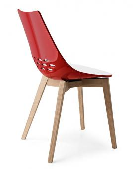 Connubia by Calligaris Stuhl Jam Wood CB1486