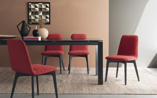 connubia by calligaris stuhl sami cb1472 in sitzm bel. Black Bedroom Furniture Sets. Home Design Ideas