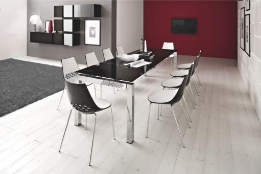 connubia by calligaris stuhl jam cb1059 in sitzm bel. Black Bedroom Furniture Sets. Home Design Ideas