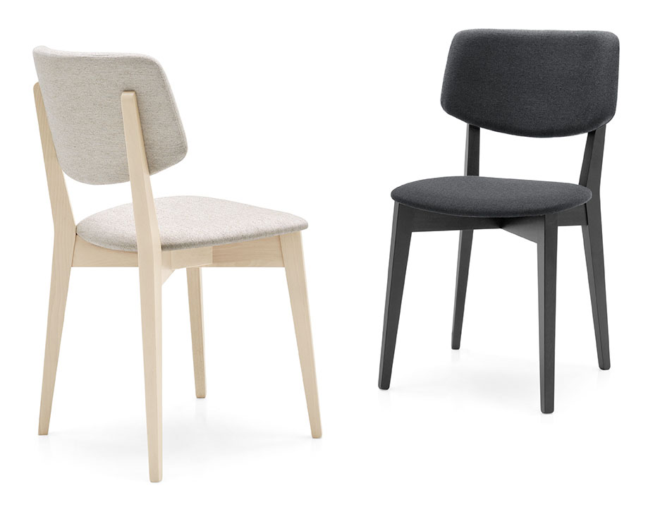 connubia by calligaris stuhl robin cb1530 in st hle. Black Bedroom Furniture Sets. Home Design Ideas